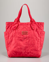 MARC by Marc Jacobs Pretty Nylon Medium Tate Tote, Rock Lobster