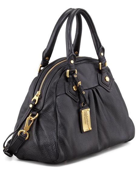Classic Q Baby Aiden Satchel Bag, Black
