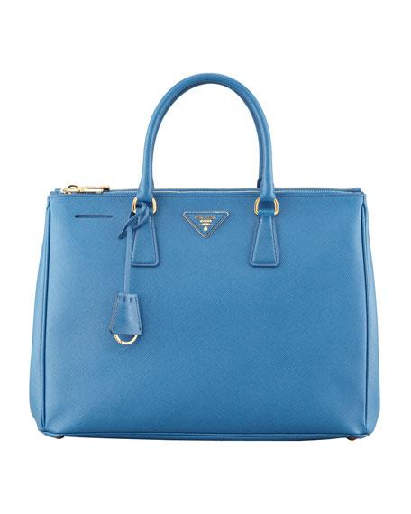 Saffiano Executive Tote Bag, Cobalt (Cobalto)