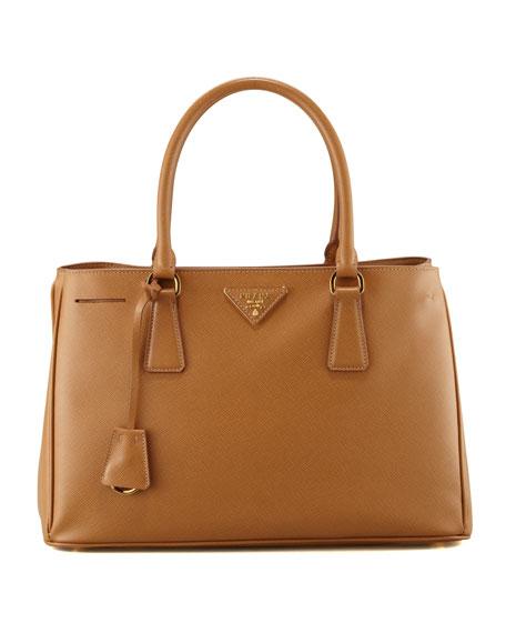 Saffiano Gardener's Tote Bag, Camel (Carmello)