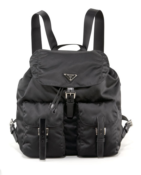 Vela Backpack, Nero