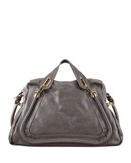 Chloe Paraty Large Shoulder Bag, Rock