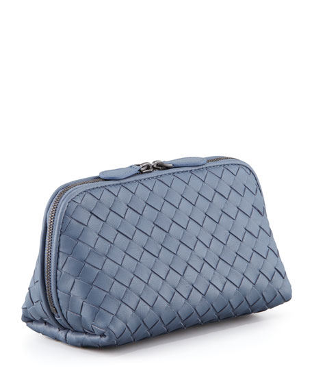 Veneta Medium Cosmetic Bag, Blue