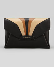 Givenchy Antigona Large Envelope Clutch Bag, Multi Colors