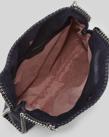 Falabella Small Tote Bag, Navy