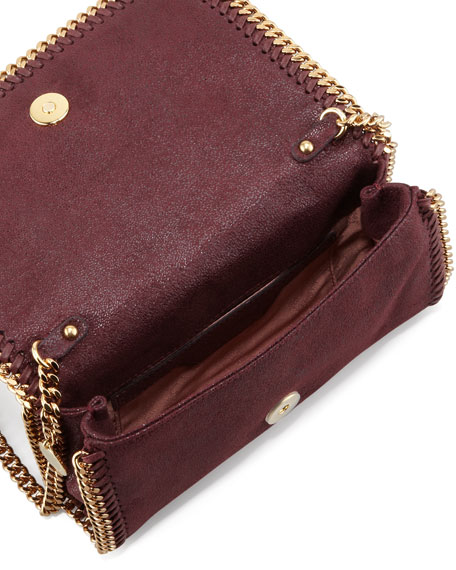 Falabella Chain Crossbody Bag, Plum