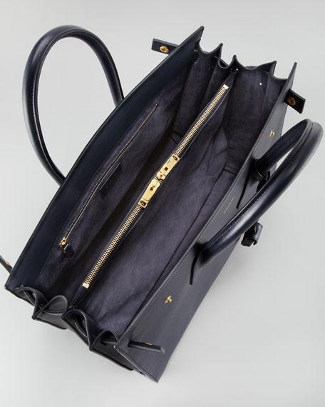 Sac De Jour Large Carryall Bag, Dark Blue