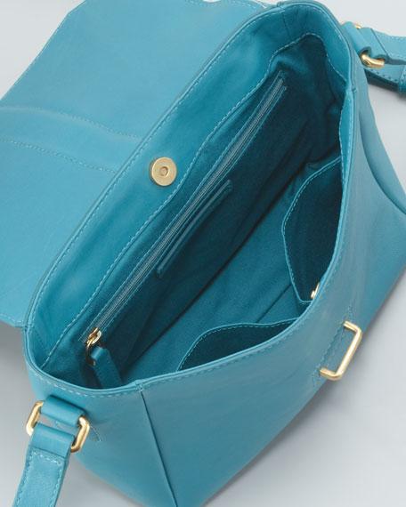 Natural Selection Mini Messenger Bag, Teal