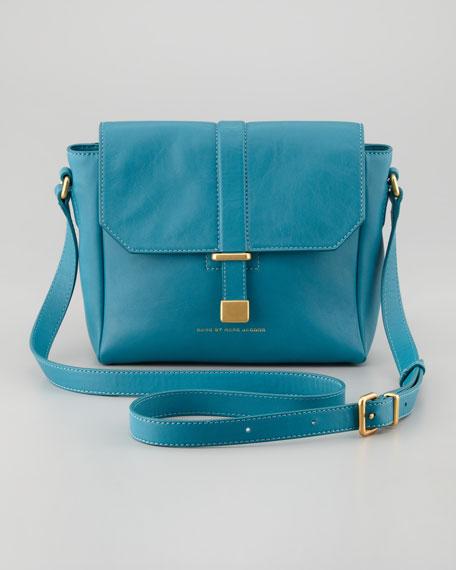 Natural Selection Mini Messenger Bag, Teal