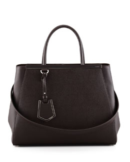 Fendi 2Jours Medium Tote Bag, Brown