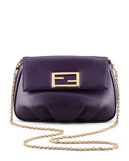 Fendi Fendista Pochette Crossbody Bag, Purple