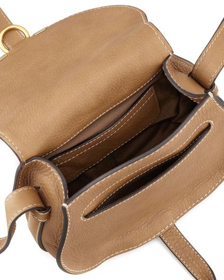 Marcie Mini Saddle Bag, Nut