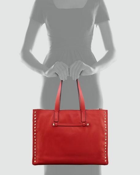 Valentino Rockstud Shopping Tote Bag 17918af514e