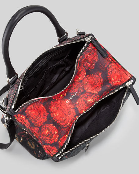Pandora Medium Multi-Print Satchel Bag