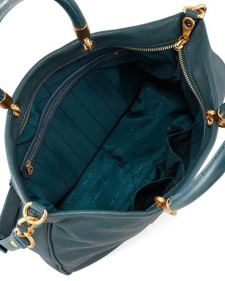 Too Hot to Handle Mini Tote Bag, Teal