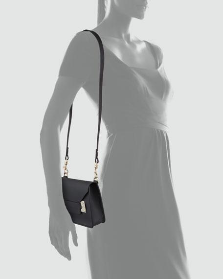 Mini Envelope Crossbody Bag, Black