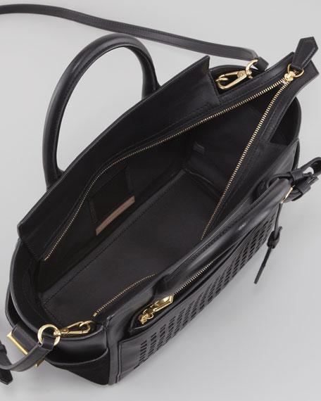 Atlantique Bionic Mini Tote Bag, Black