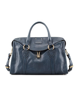 Marc Jacobs Wellington Fulton Large Satchel Bag, Atlantic