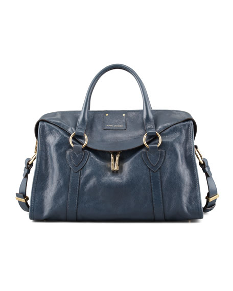 Wellington Fulton Satchel Bag, Atlantic