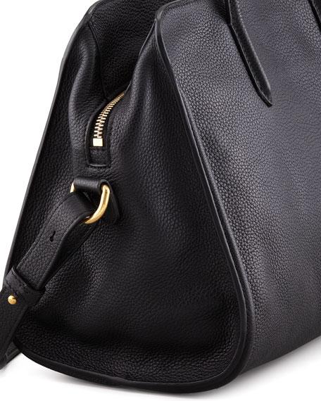 6fb82b7b283c Alexander McQueen Padlock Zip-Around Tote Bag