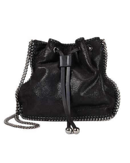 Falabella Pouch Crossbody Bag, Black