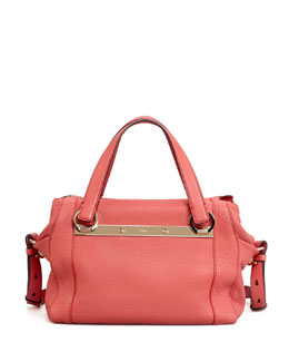 Chloe Bridget Small Shoulder Bag, Pink