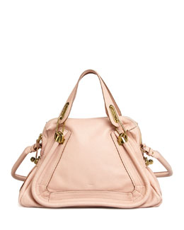 Chloe Paraty Shoulder Bag, Pink
