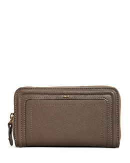 Chloe Paraty Long Zip Wallet, Rock
