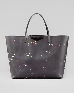 Givenchy Antigona Large Confetti-Print Shopper Bag