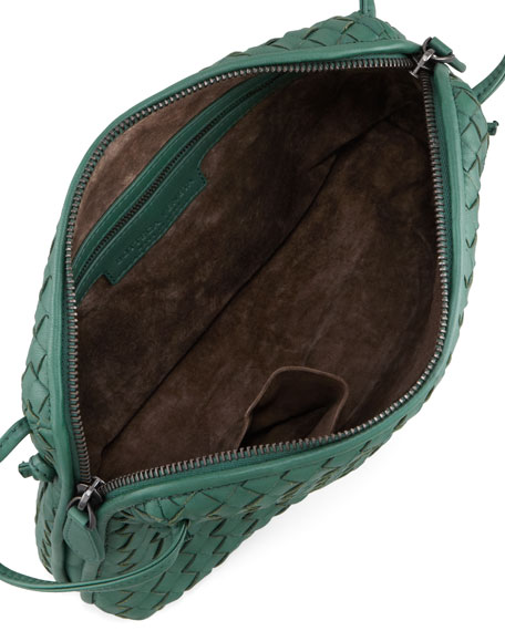 Veneta Small Messenger Bag, Mint Green