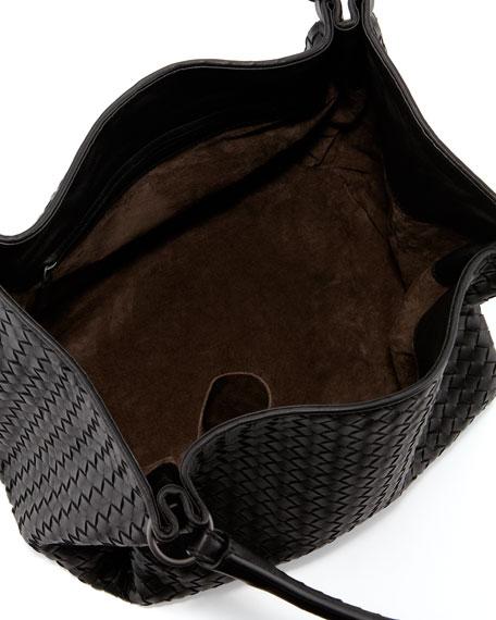 Parachute Intrecciato Tote Bag, Black