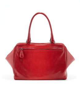 Bottega Veneta Brera Degrade Satchel Bag, Red