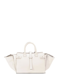 CoSTUME NATIONAL Parigi Classic Duffel Bag, White