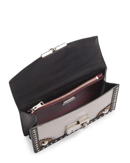 prada wristlet for sale - prada studded saffiano flap bag, replica prada handbags