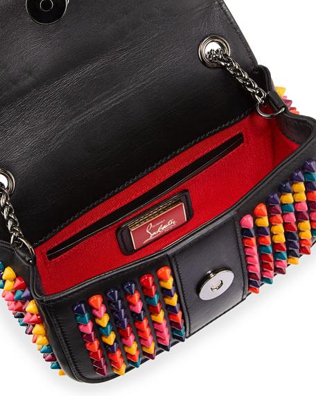 e11c2569279 Sweet Charity Small Spiked Crossbody Bag Black