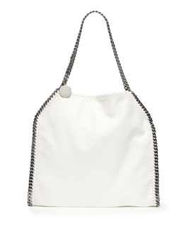 Stella McCartney Falabella Baby Bella Shoulder Bag, White