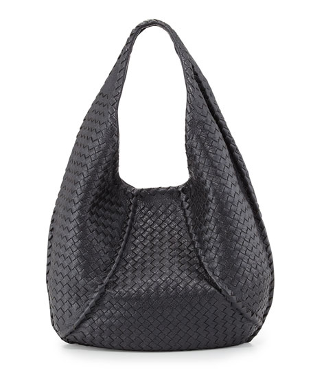28d3d7ffe1 Bottega Veneta Cervo Braided Deer Skin Large Hobo