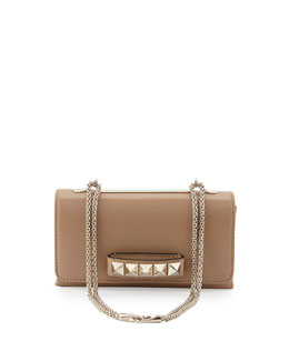 Valentino Va Va Voom Noir Shoulder Bag, Tan