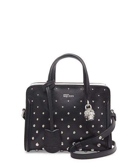 f840ca572781 Alexander McQueen Mini Studded Padlock Zip-Around Tote Bag