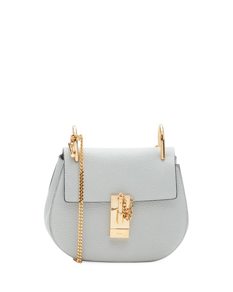 Chloe Drew Mini Shoulder Bag, Black