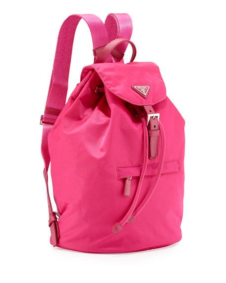 c2e7a86624ff Prada Vela Medium Backpack, Pink (Fuxia)
