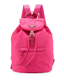 Vela Medium Backpack, Pink (Fuxia)