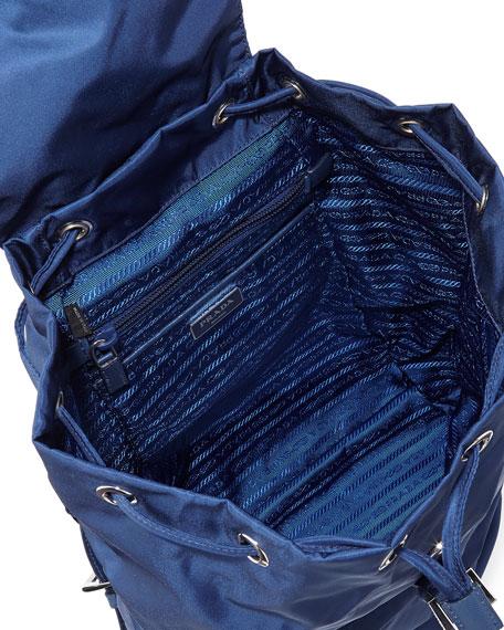prada handbags discount prices - Prada Vela Medium Backpack, Blue (Royal)