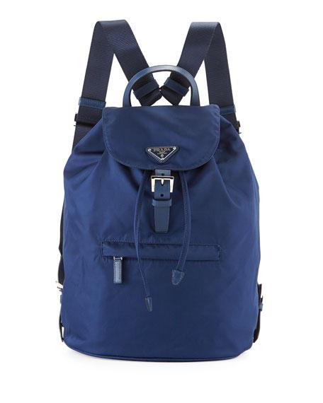 Prada Blue Backpack