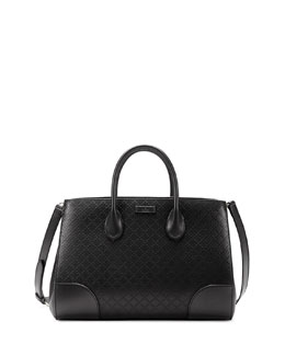 Gucci Bright Diamante Medium Bag, Black