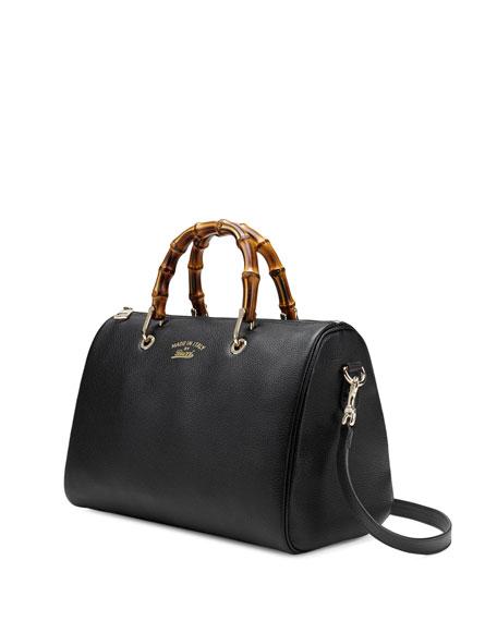 aa6f18e0ccd Gucci Bamboo Shopper Medium Boston Bag
