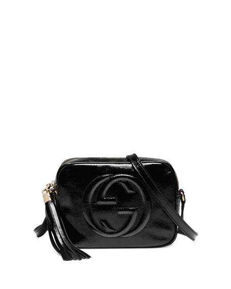 ac2c50ce9e01 Gucci Soho Patent Leather Disco Bag