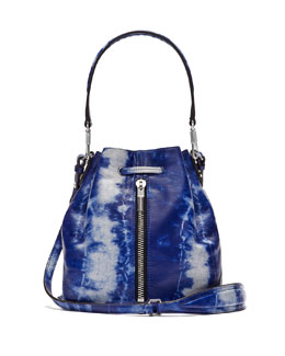 Cynnie Mini Bucket Bag, Tie Dye