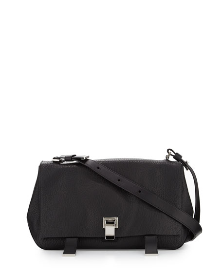 PS Courier Shoulder Bag, Black
