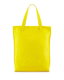 North-South Shopper Bag, Yellow